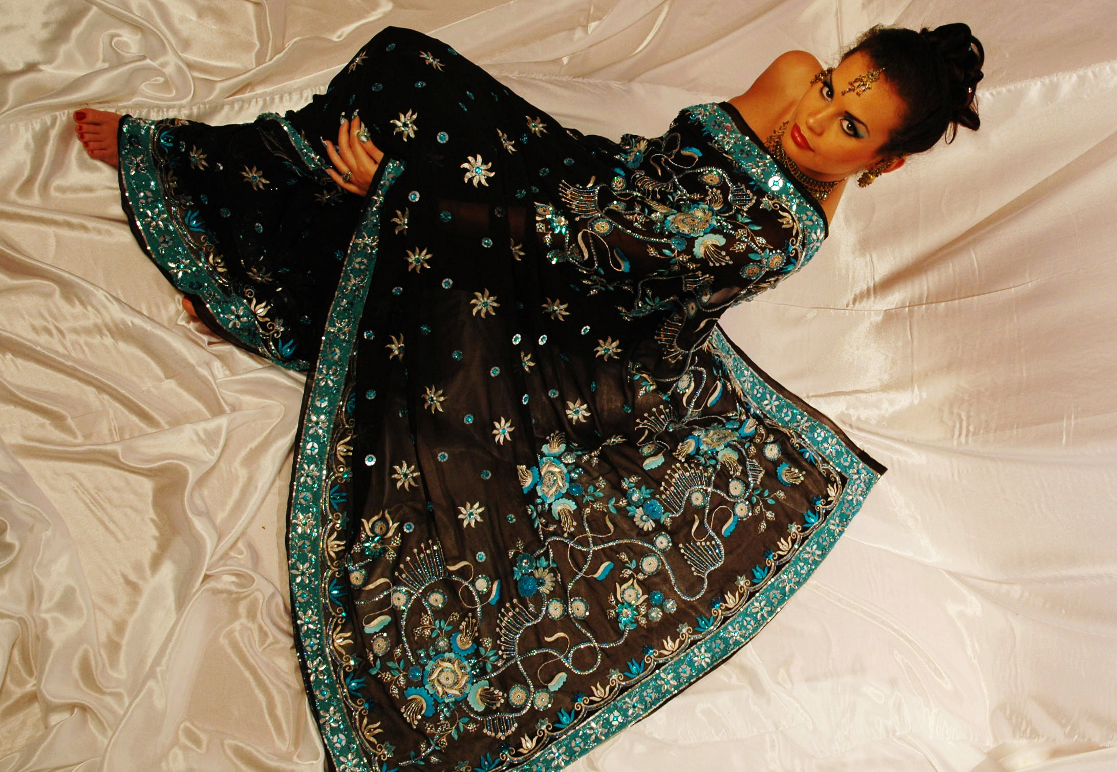 The Art of Sari Draping